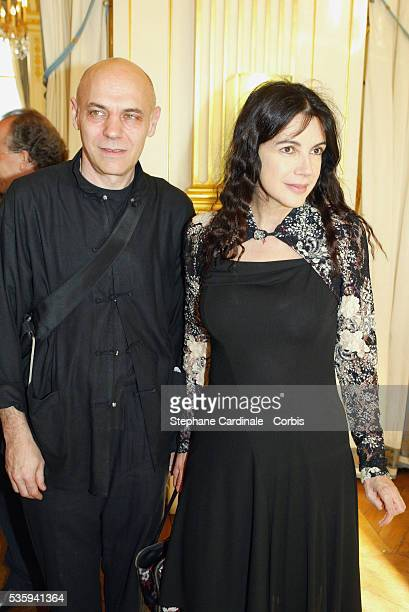 Actress Carole Laure and her husband Lewis Furey attend an event at the annual Fete du Cinema in Paris The French film festival offers moviegoers a...