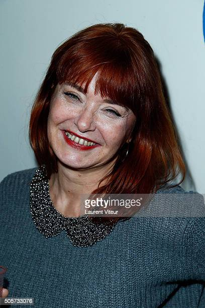 Actress CaroleAnne Junchat attends Polish Hope Paris Screening At Cinema Grand Action on January 19 2016 in Paris France