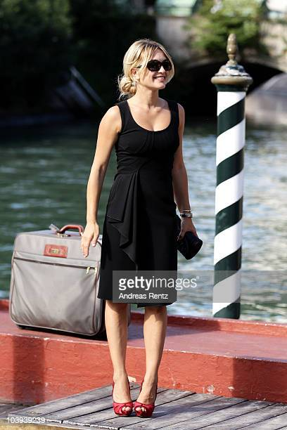 Actress Carolina Crescentini attends the 67th Venice Film Festival on September 9 2010 in Venice Italy