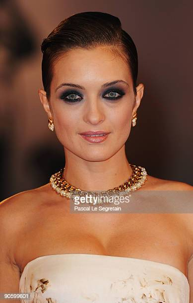 Actress Carolina Crescentini attends the A Single Man premiere at the Sala Grande during the 66th Venice Film Festival on September 11 2009 in Venice...