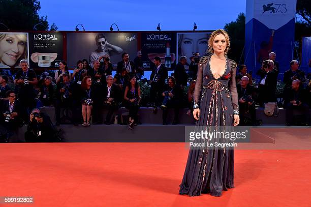 Actress Carolina Crescentini attends the Kineo Diamanti Award Ceremony during the 73rd Venice Film Festival on September 4 2016 in Venice Italy
