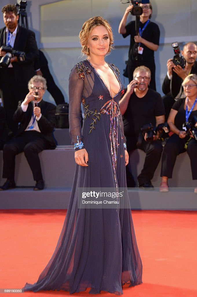 Actress Carolina Crescentini attends the Kineo Diamanti Award Ceremony during the 73rd Venice Film Festival on September 4, 2016 in Venice, Italy.
