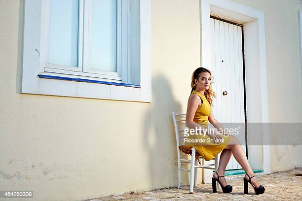 Actress carolina crescentini is photographed for Self Assignment on August 25 2014 in Rome Italy