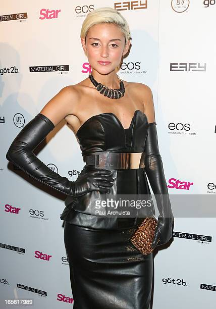Actress Carolina D'Amore attends Star Magazine's 'Hollywood Rocks' party at Playhouse Hollywood on April 4 2013 in Los Angeles California