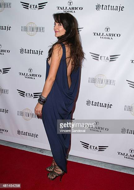 Actress Carolina Gomez attends the screening of Blunt Force Trauma at CAA on July 20 2015 in Los Angeles California