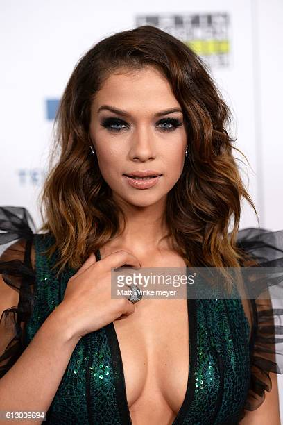 Actress Carolina Miranda attends the 2016 Latin American Music Awards at Dolby Theatre on October 6 2016 in Hollywood California