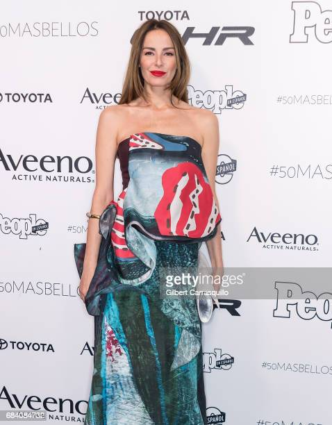 Actress Carolina Parsons arrives at People en Espanol's 50 Most Beautiful Gala 2017 at Espace on May 16 2017 in New York City