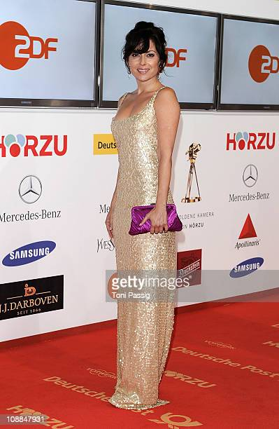 Actress Carolina Vera Squella attends the 46th Golden Camera awards at the Axel Springer Haus on February 5 2011 in Berlin Germany