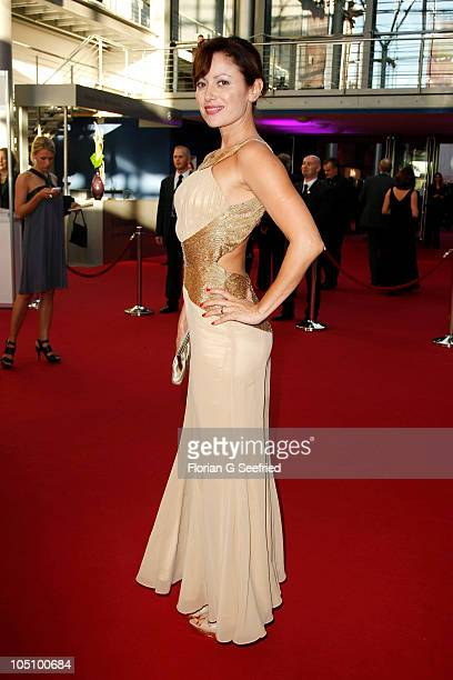 Actress Carolina Vera Squella attends the German TV Award 2010 at Coloneum on October 9 2010 in Cologne Germany