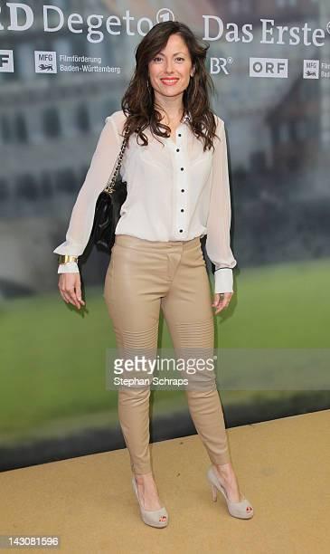 Actress Carolina Vera Squella attends the premiere of 'Die Heimkehr' at Astor Film Lounge movie theater Kurfuerstendamm on April 18 2012 in Berlin...