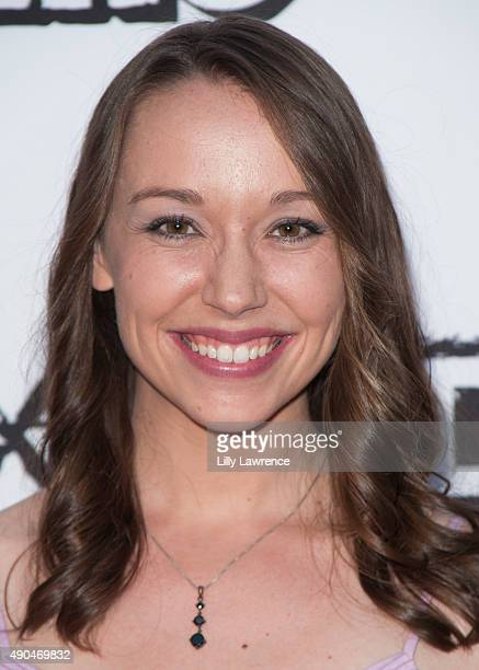 Actress Caroline Barry attends the premiere of Marvista Entertainment's 'Kids Vs Monsters' at The Egyptian Theatre on September 28 2015 in Los...