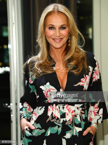 Actress Caroline Beil attends the Green Carpet Lounge hosted by the Ustinov Foundation on February 16 2018 in Berlin Germany