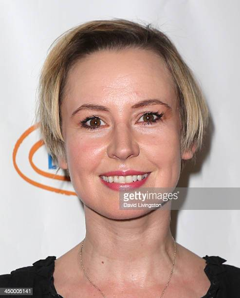 Actress Caroline Carver attends the 11th Annual Lupus LA Hollywood Bag Ladies Luncheon at the Beverly Wilshire Four Seasons Hotel on November 15,...