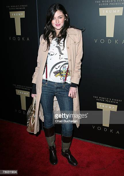 Actress Caroline D'Amore attends Trump Vodka launch party at Les Deux on January 17, 2007 in Los Angeles, California.