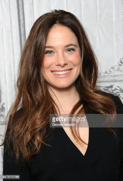 Actress Caroline Dhavernas attends Build to discuss 'Easy Living' at Build Studio on September 15 2017 in New York City