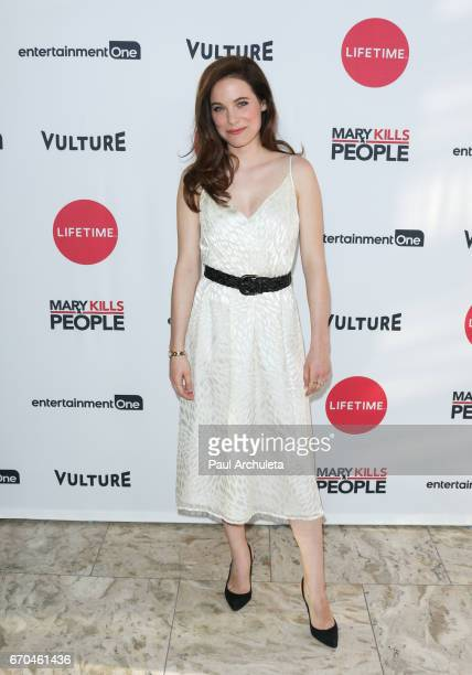 Actress Caroline Dhavernas attends the screening of 'Mary Kills People' at The London Hotel on April 19 2017 in West Hollywood California