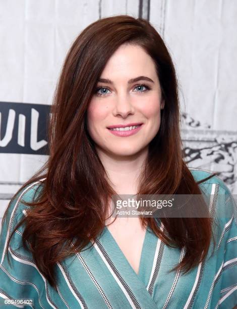 Actress Caroline Dhavernas discusses her new series 'Mary Kills People' at Build Studio on April 17 2017 in New York City
