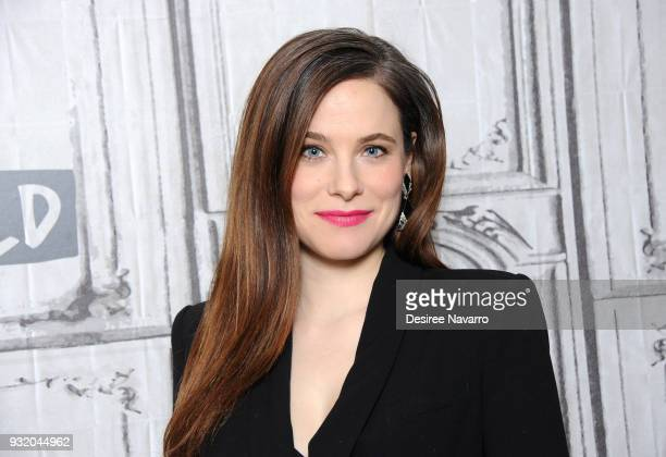 Actress Caroline Dhavernas visits Build Series to discuss TV comedy series 'Mary Kills People' at Build Studio on March 14 2018 in New York City