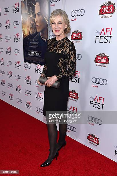 Actress Caroline Lagerfelt attends the screening of 'The Homesman' during AFI FEST 2014 presented by Audi at Dolby Theatre on November 11 2014 in...