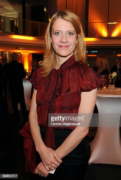 Actress Caroline Peters attend the ARD Dinner at the Hypo Forum on November 28 2008 in Munich Germany