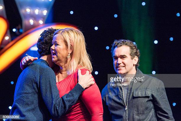 Actress Caroline Rhea attends BroadwayCon 2016 at the New York Hilton Midtown on January 24, 2016 in New York City.