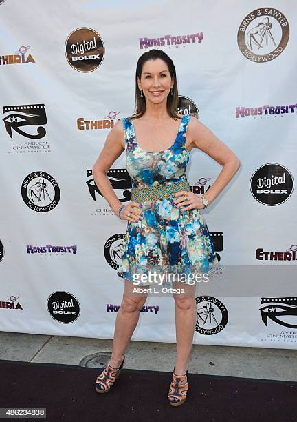Actress Caroline Williams arrives for the Etheria Film Night 2015 held at American Cinematheque's Egyptian Theatre on June 13, 2015 in Hollywood,...