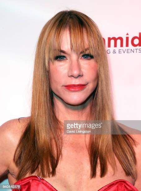 Actress Caroline Williams attends the 6th Annual Rock Against MS benefit concert and award show at the Los Angeles Theatre on March 31 2018 in Los...