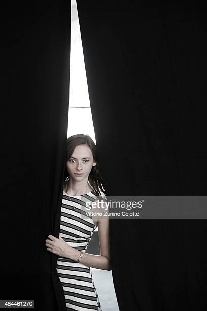 Actress Carolyn Genzkow is photographed for Self Assignment on August 8 2015 in Locarno Switzerland