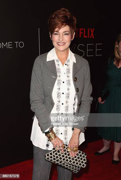 Actress Carolyn Hennesy arrives at the Netflix FYSee Kick Off Event at Netflix FYSee Space on May 7 2017 in Beverly Hills California