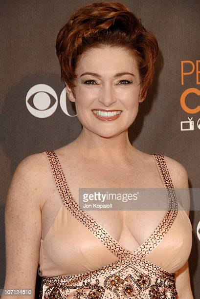 Actress Carolyn Hennesy arrives at the People's Choice Awards 2010 held at Nokia Theatre LA Live on January 6 2010 in Los Angeles California