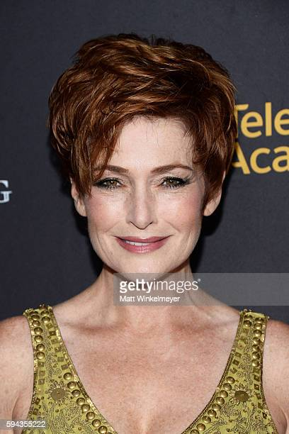 Actress Carolyn Hennesy arrives at the Television Academy's Performers Peer Group Celebration at Montage Beverly Hills on August 22 2016 in Beverly...