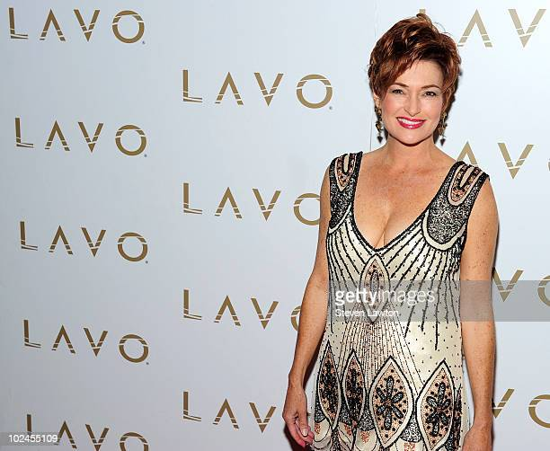 Actress Carolyn Hennesy arrives for Daytime Emmys preparty at Lavo on June 26 2010 in Las Vegas Nevada