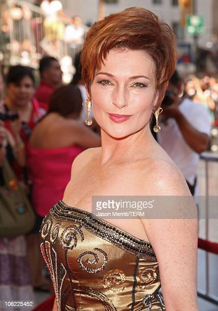 Actress Carolyn Hennesy arrives to The 35th Annual Daytime Emmy Awards at the Kodak Theatre on June 20 2008 in Los Angeles California