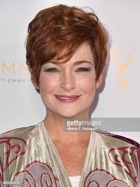 Actress Carolyn Hennesy attends a cocktail reception hosted by the Academy of Television Arts Sciences celebrating the Daytime Peer Group at Montage...