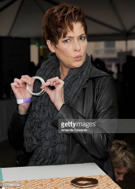 Actress Carolyn Hennesy attends Silpada at Kari Feinstein's Academy Awards Style Lounge at Montage Beverly Hills on February 25 2011 in Beverly Hills...