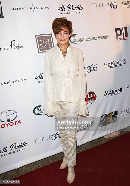 Actress Carolyn Hennesy attends the 23rd annual Veterans Holiday Celebration A Night For Heroes on November 21 2015 in Beverly Hills California