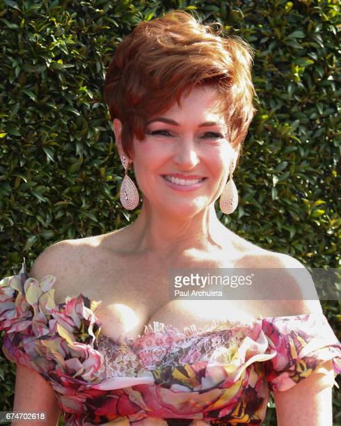 Actress Carolyn Hennesy attends the 44th annual Daytime Creative Arts Emmy Awards at Pasadena Civic Auditorium on April 28 2017 in Pasadena California