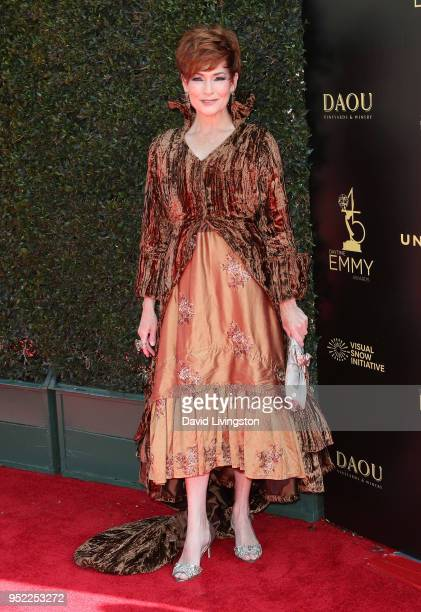 Actress Carolyn Hennesy attends the 45th Annual Daytime Creative Arts Emmy Awards at Pasadena Civic Auditorium on April 27 2018 in Pasadena California