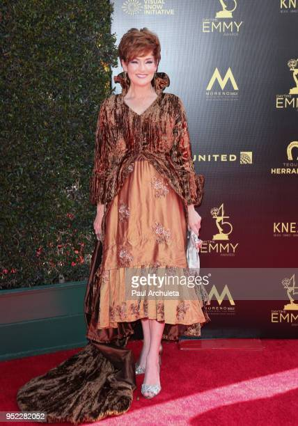 Actress Carolyn Hennesy attends the 45th Annual Daytime Creative Arts Emmy Awards at the Pasadena Civic Auditorium on April 27 2018 in Pasadena...