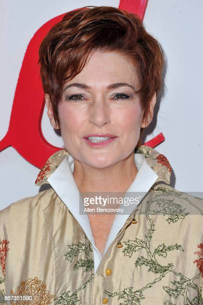 Actress Carolyn Hennesy attends the grand opening of Westfield Century City at Westfield Century City on October 3 2017 in Century City California