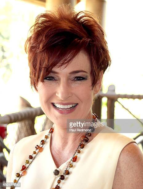 Actress Carolyn Hennesy attends the Greater Los Angeles Zoo Association's Beastly Ball Fundraiser Menu Media Preview at Los Angeles Zoo on June 5...