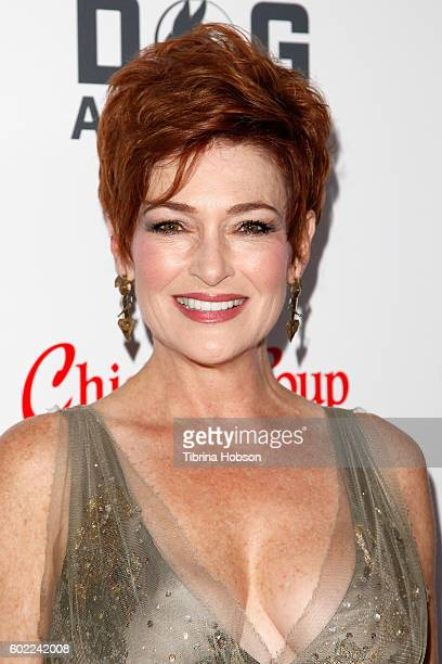 Actress Carolyn Hennesy attends the Sixth Annual American Humane Association Hero Dog Awards at The Beverly Hilton Hotel on September 10 2016 in...