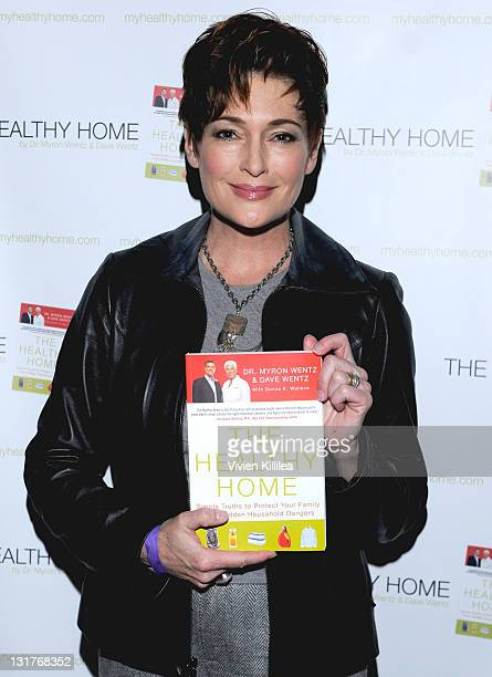 Actress Carolyn Hennesy attends USANA at Kari Feinstein's Academy Awards Style Lounge at Montage Beverly Hills on February 25 2011 in Beverly Hills...
