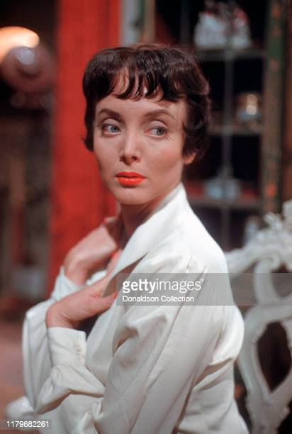 Actress Carolyn Jones 1959 in Los Angeles, California .