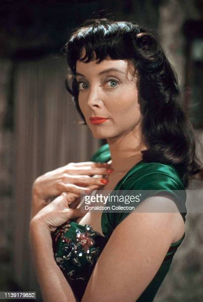 Actress Carolyn Jones poses for a portrait in 1959.