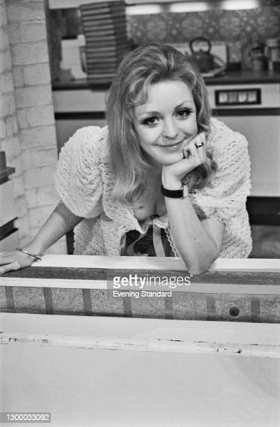 Actress Carolyn Lyster, UK, 17th February 1972.