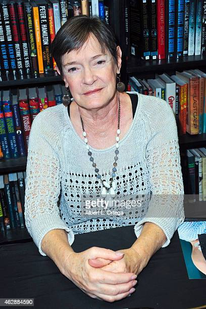 Actress Carolyn Purdy-Gordon at the Second Annual David DeCoteau's Day Of The Scream Queens held at Dark Delicacies Bookstore on January 25, 2015 in...