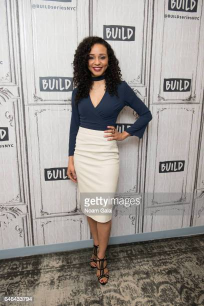 Actress Carra Patterson attends Build Series to discuss 'The Arrangement' at Build Studio on February 28 2017 in New York City