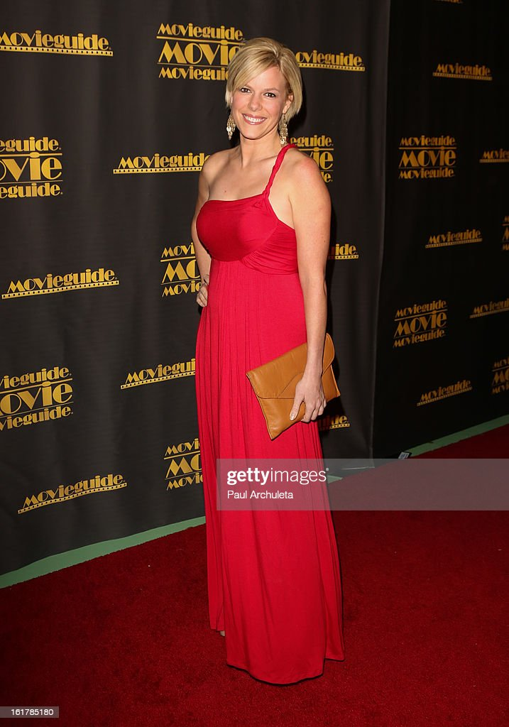 Actress Carrie Ainsworth attends the 21st annual Movieguide Awards at Hilton Universal City on February 15, 2013 in Universal City, California.
