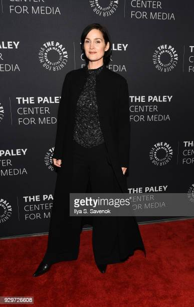Actress Carrie Anne Moss attends The Paley Center For Media Presents An Evening With Jessica Jonesat The Paley Center for Media on March 8 2018 in...
